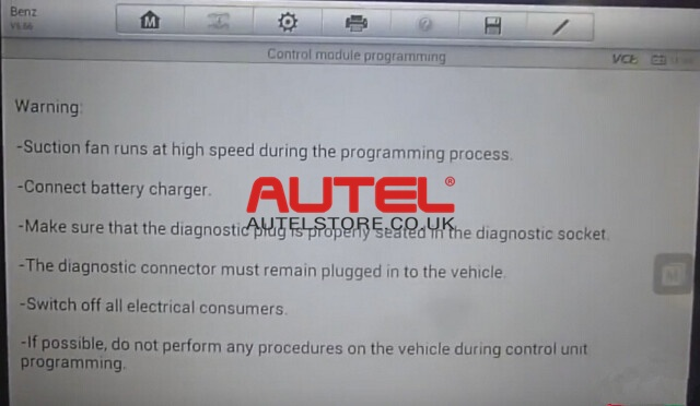 How to Do MB SCN Coding Online Easily by Autel MS908P